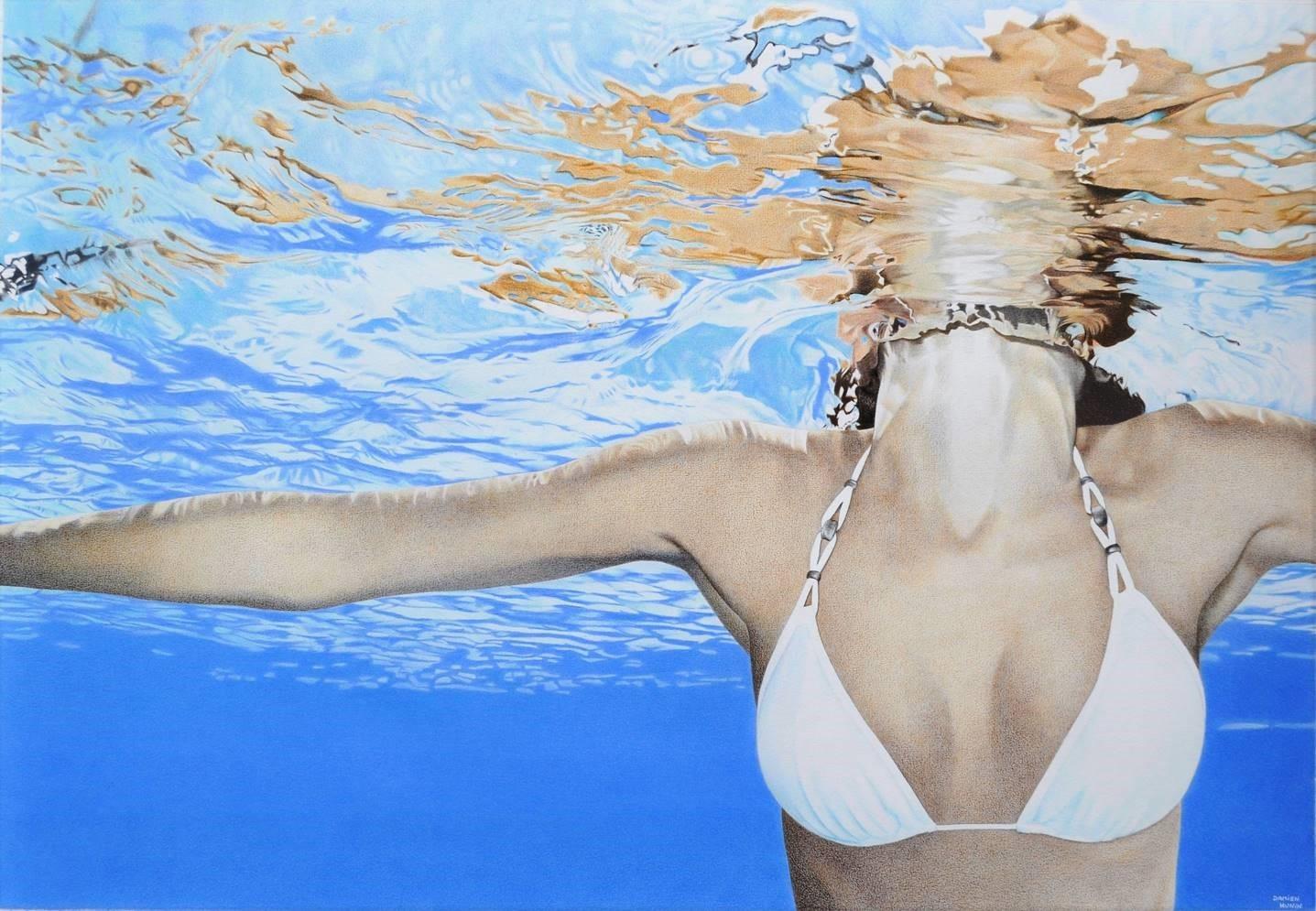 La tête hors de l'eau