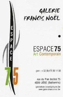 Galerie Francis Noël - espace 75